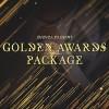 AE模板:公司企业活动年会大气颁奖典礼栏目包装 Golden Awards Package