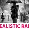AE模板:真实下雨场景雨滴合成特效 Rain