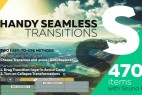 AE模板+脚本:470组实用图片视频扭曲透视旋转平移摄像机AE转场预设Handy Seamless Transitions | Pack & Script V3