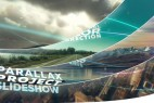 AE模板:三维空间光线元素图文切换展示 Parallax Slideshow