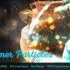 AE模板-浪漫梦幻粒子飘动图片展示工具包 Shimmer Particles Motion Kit