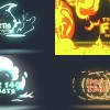AE模板:145种卡通动漫火焰烟雾闪电流体MG动画元素