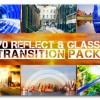 AE模板:70种玻璃反射质感转场效果动画 Transition Pack - Reflect N Glass