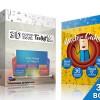 AE模板-卡通三维翻页展开场景动画制作工具包3D Pop-Up Book Toolkit featuring Mister Cake