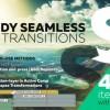 AE模板+脚本:497组实用图片视频扭曲透视旋转平移摄像机AE转场预设(更新V3.3.2版本)Handy Seamless Transitions | Pack & Script V3.3.2