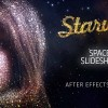 AE模板-Form粒子汇聚穿梭图片梦幻片头开场 StarWay Space Slideshow