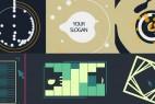 AE脚本+模板:400个创意MG图形动画元素(含使用教程)