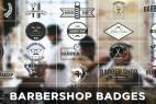 AE模板:25种徽章标签文字动画 Barbershop Badges