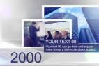 AE模板:公司企业时间轴发展历程图文简介 Timeline
