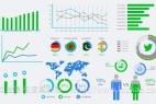 AE模板-信息图表点线柱状图数据展示动画 Mega Infographics Pack
