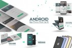AE模板:安卓手机APP应用操作界面展示 Android App Promo Mock-Up Kit