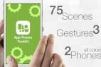 AE模板-三星iPhone手机点击滑动APP展示动画工具包 App Promo Toolkit