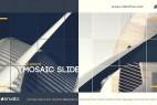 AE模板:马赛克网格风格视图切换动画 Classic Mosaic Slide
