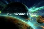 AE模板-大气宇宙星球穿梭文字片头动画 Epic Space Titles