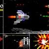 AE模板:8像素打飞机游戏LOGO标志片头 Logo Arcade Game 8 Bit