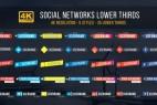 AE模板:35种简洁字幕标题动画 Social Lower Thirds