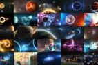 AE模板:外太空太阳银河系三维星球动画工具包 Solar System Massive Kit