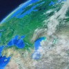 AE模板:外太空俯冲地球缩放动画 World Map Earth Zoom