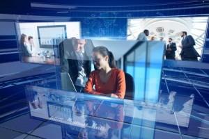 AE模板-三维玻璃科技感企业公司新闻图片视频包装片头 Corporate Displays