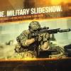 AE模板:军事战争科技图文效果展示 Warfare Military Slideshow