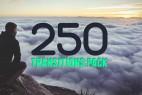 AE模板:250种转场过渡动画 250 Transitions Pack