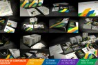 AE模板:公司企业全套VI视觉包装动画 Presentation of Corporate Style - Mockup