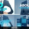 AE模板:未来科技感商务公司企业宣传介绍动画 Future of Architecture