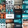 AE模板:时尚动感大标题文字片头 Typo Opener Pack