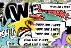 AE模板-漫画卡通搞笑综艺对话框气泡动画 Comics Bubbles Speech Kit