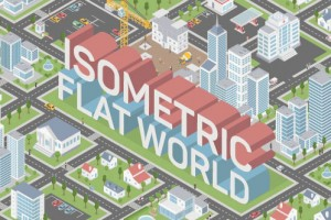 AE模板-扁平化三维等距MG动画城市场景地图元素工具包 Isometric Map Builder