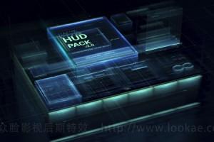 第九季 AE模板-600个HUD高科技屏幕图像线条元素包