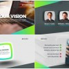 AE模板:现代清新公司企业发展历程业务简介栏目包装 Corporate Presentation
