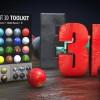 177组Element 3D/E3D材质倒角4K预设 Element 3D Toolkit