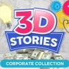 AE模板-三维ICON图标MG动画背景转场栏目包装质感元素 3D STORIES