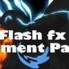 视频素材+AE模板:二维卡通能量水流烟雾MG动画元素Flash Fx Element Pack