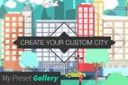 AE模板+脚本:扁平化城市楼房人物汽车街道MG动画元素 Flat City Vector