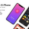 AE模板-手机点击滑动APP展示宣传动画片头 Simplicity X-Phone Promo