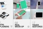 AE模板:手机触屏APP应用展示动画 iTouch 2 | App Promo Mock-Up Kit