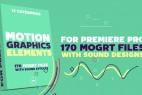 PR预设:170组线条MG图形动画元素Motion Graphics Elements Pack