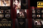 AE模板-红幕布颁奖典礼晚会人物介绍大气片头 Awards Presentation Pack