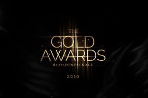 AE模板-大气金色颁奖典礼晚会片头包装开场 Gold Awards Package