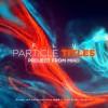 AE模板-梦幻抽象粒子流动文字标题宣传片头FLU - Particles Titles