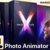 AE模板-人物风景图片转三维摄像机运动视差3D动画+视频教程 Photomotion X