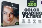 AE模板-204组视频图片滤镜特效调色预设效果 200 Color Grading Filters