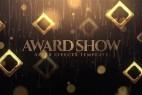 AE模板-大气华丽金色粒子公司年会活动颁奖典礼栏目包装片头 Golden Award Show