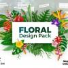 AE模板-植物花朵叶子视频包装工具包 Floral Design Pack