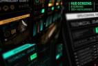 AE模板-科技感HUD屏幕信息动画元素 HUD Screens
