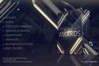 AE模板-晶莹剔透玻璃质感公司企业年会活动颁奖典礼栏目包装片头Diamond Awards Packaging