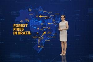 AE模板-科技感军事地图演示图标路径HUD动画