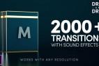 PR模板-2000组移动RGB色彩分离信号扭曲抖动Premiere视频转场V15